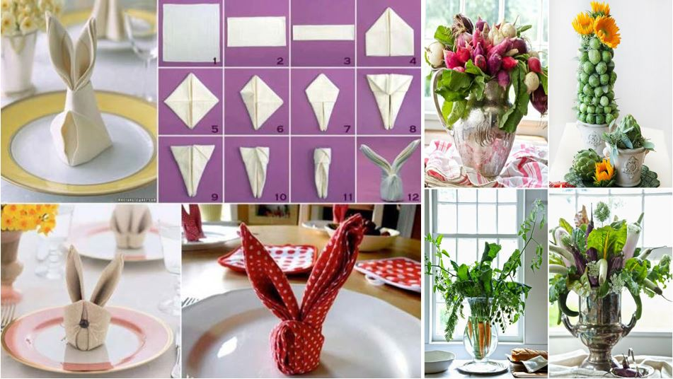 21 Diy Decorations For Your Easter Brunch Table