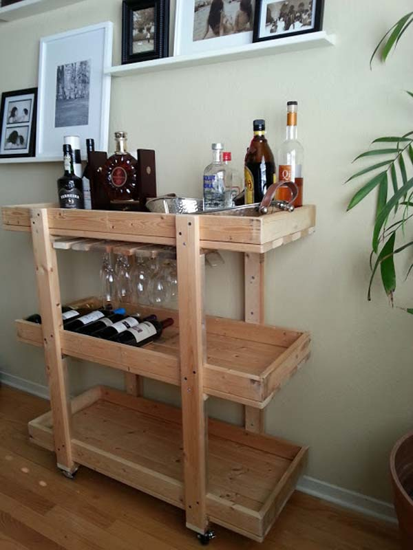 diy wood bar. AD DIY Home Bar 16 21 Budget Friendly Cool You Need In Your