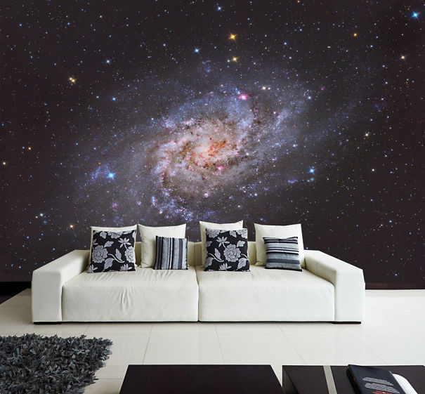 45 Space Themed Interior Design Ideas That Bring The Stars