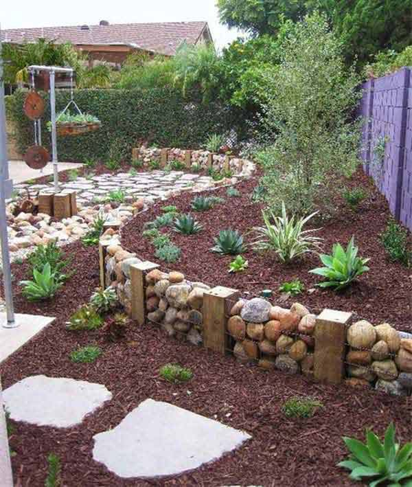 Superb Garden Bed Edging Ideas AD 2