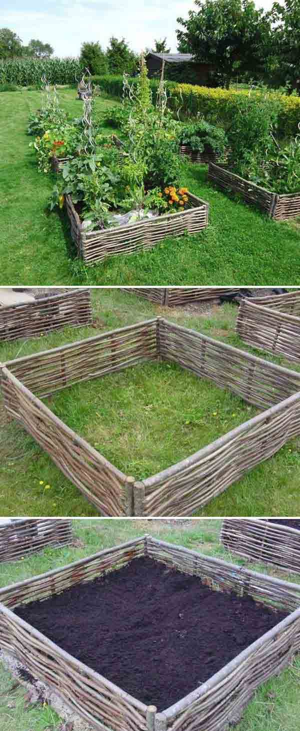 Top 28 Surprisingly Awesome Garden Bed Edging Ideas | Architecture ...