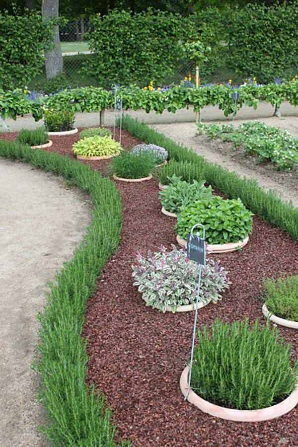 Garden Bed Edging Ideas AD 27