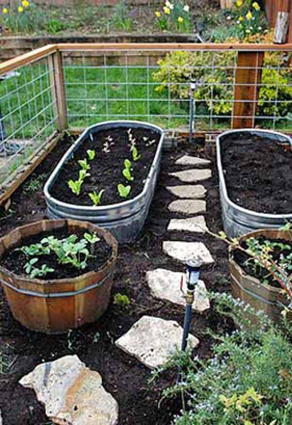 Garden Bed Edging Ideas AD 4