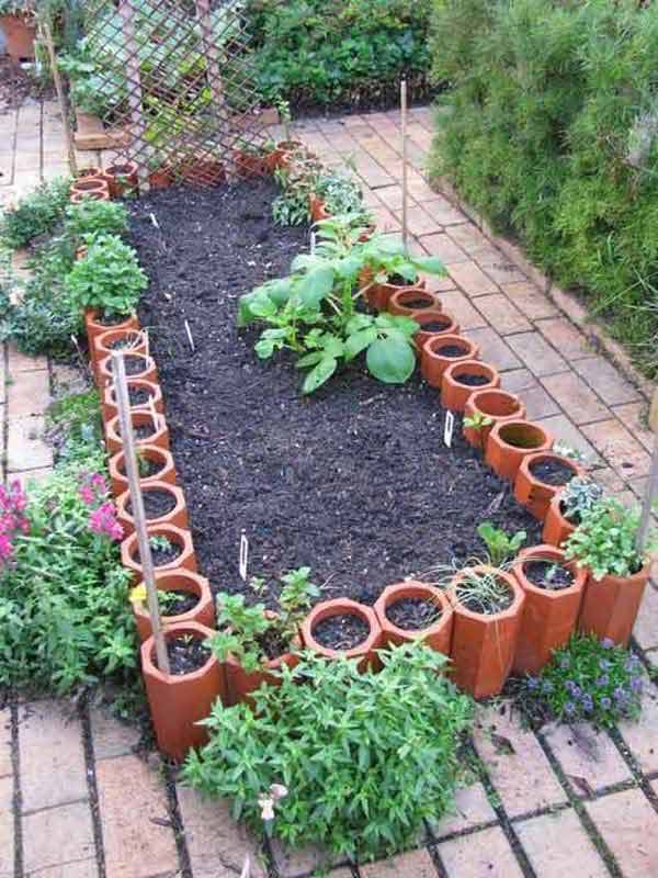 garden bed edging ideas ad 7 - Planting Beds Design Ideas