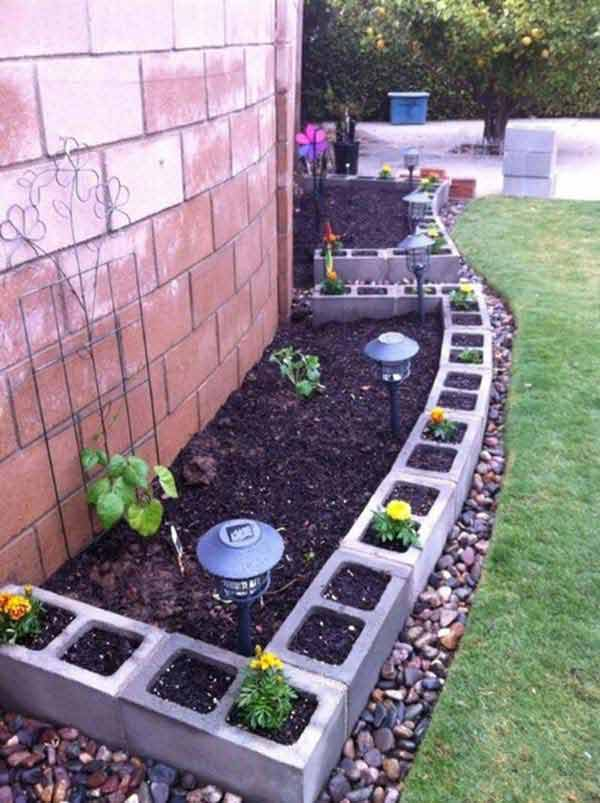 Garden Bed Edging Ideas AD 8 1