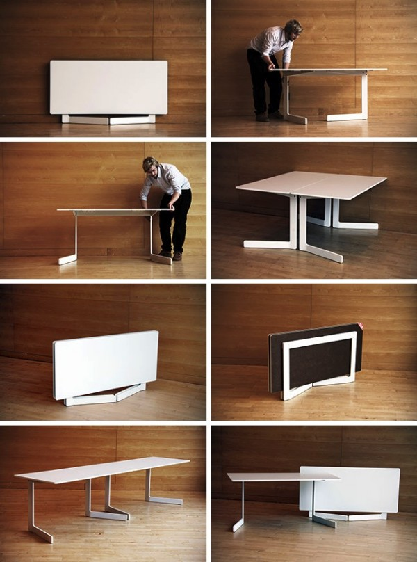 30 Extendable Dining Tables Architecture amp Design : 17 Foldable dining table from www.architecturendesign.net size 600 x 808 jpeg 99kB