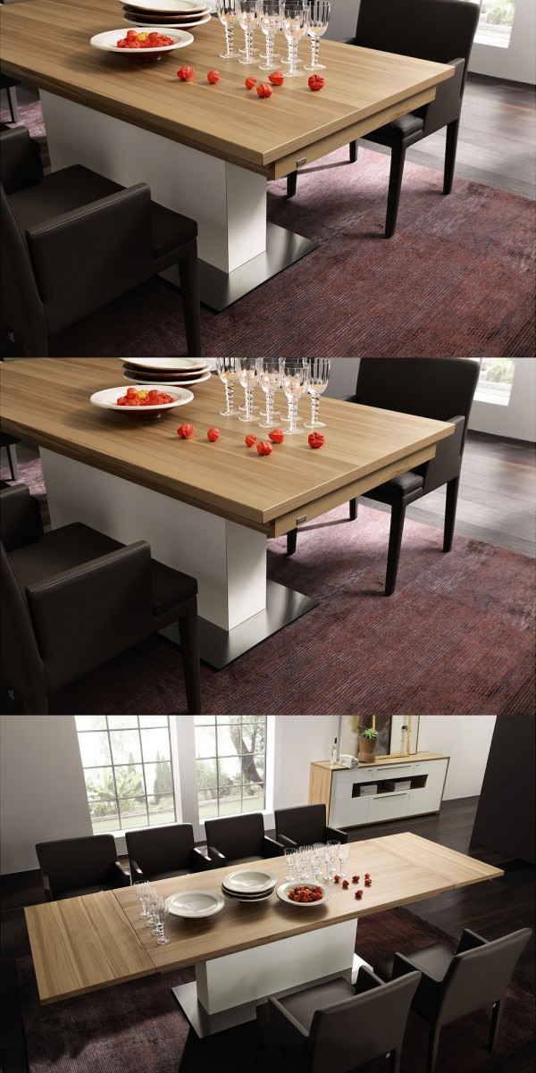 30 Extendable Dining Tables Architecture Amp Design