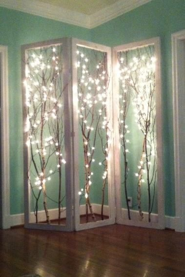 AD Amazingly Pretty Ways To Use String Lights