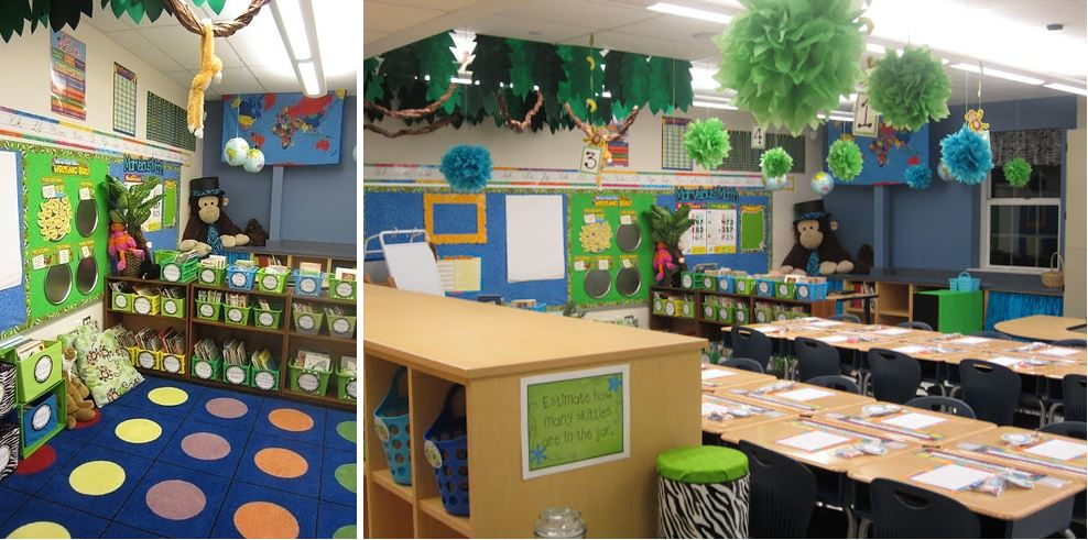 Modern Elementary School Classroom ~ Epic examples of inspirational classroom decor