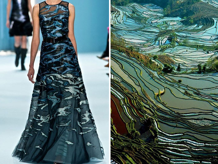 Fashion Inspired By Nature In Diptychs By Liliya Hudyakova Architecture Design