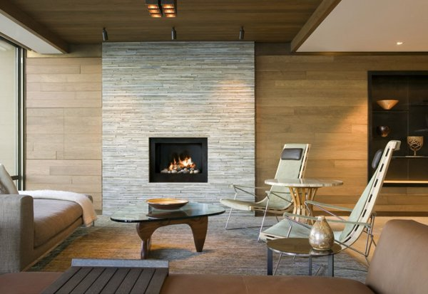 Modern Fireplaces To Keep Your Homes Warm | Architecture & Design