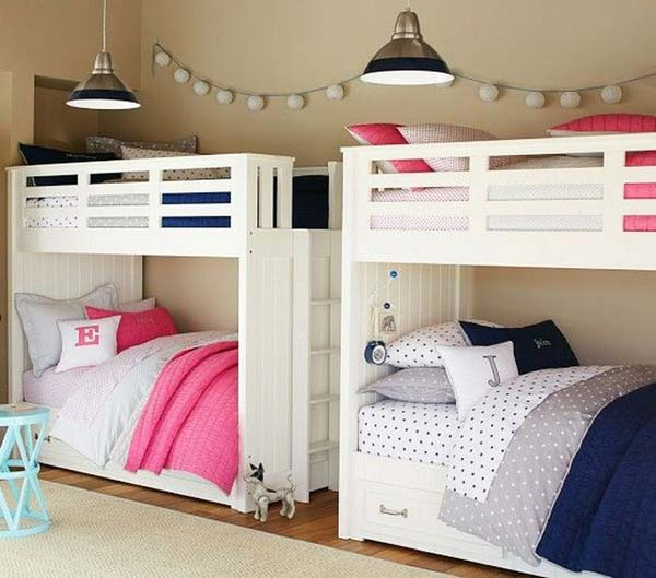 20 brilliant ideas for boy girl shared bedroom for Bedroom ideas for girls in their 20s