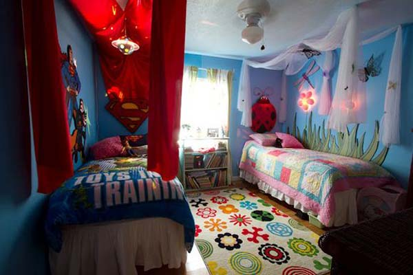 AD Shared Bedroom Boy Girl 7. 20  Brilliant Ideas For Boy   Girl Shared Bedroom   Architecture