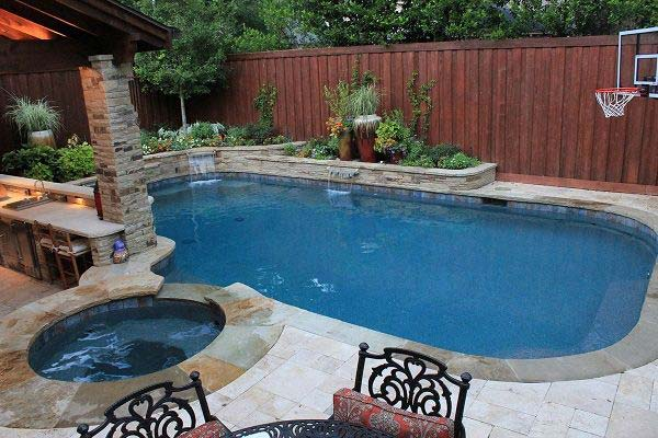 48 Fabulous Small Backyard Designs With Swimming Pool Best Backyard Designs With Pool