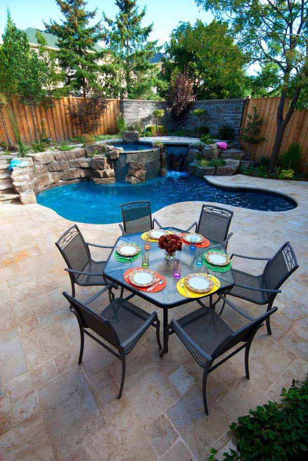 48 Fabulous Small Backyard Designs With Swimming Pool Amazing Backyard Designs With Pool