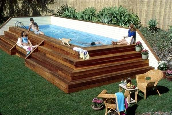 25+ Fabulous Small Backyard Designs with Swimming Pool ...