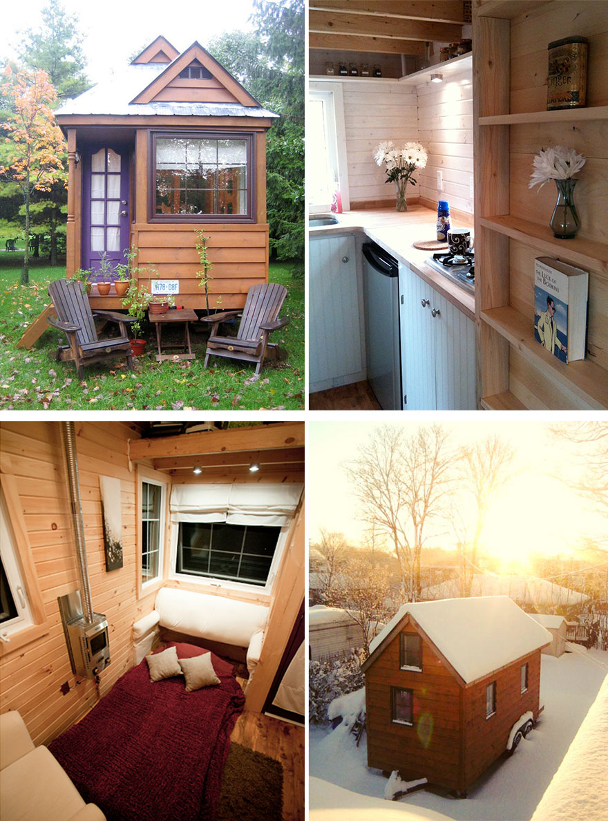Attractive Tiny Home Interior Design. AD Small Houses Saving Space 11 30 Tiny Homes  That Make