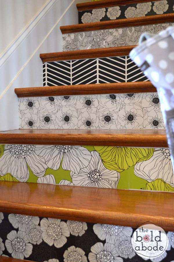 AD Stair Risers Decor 6