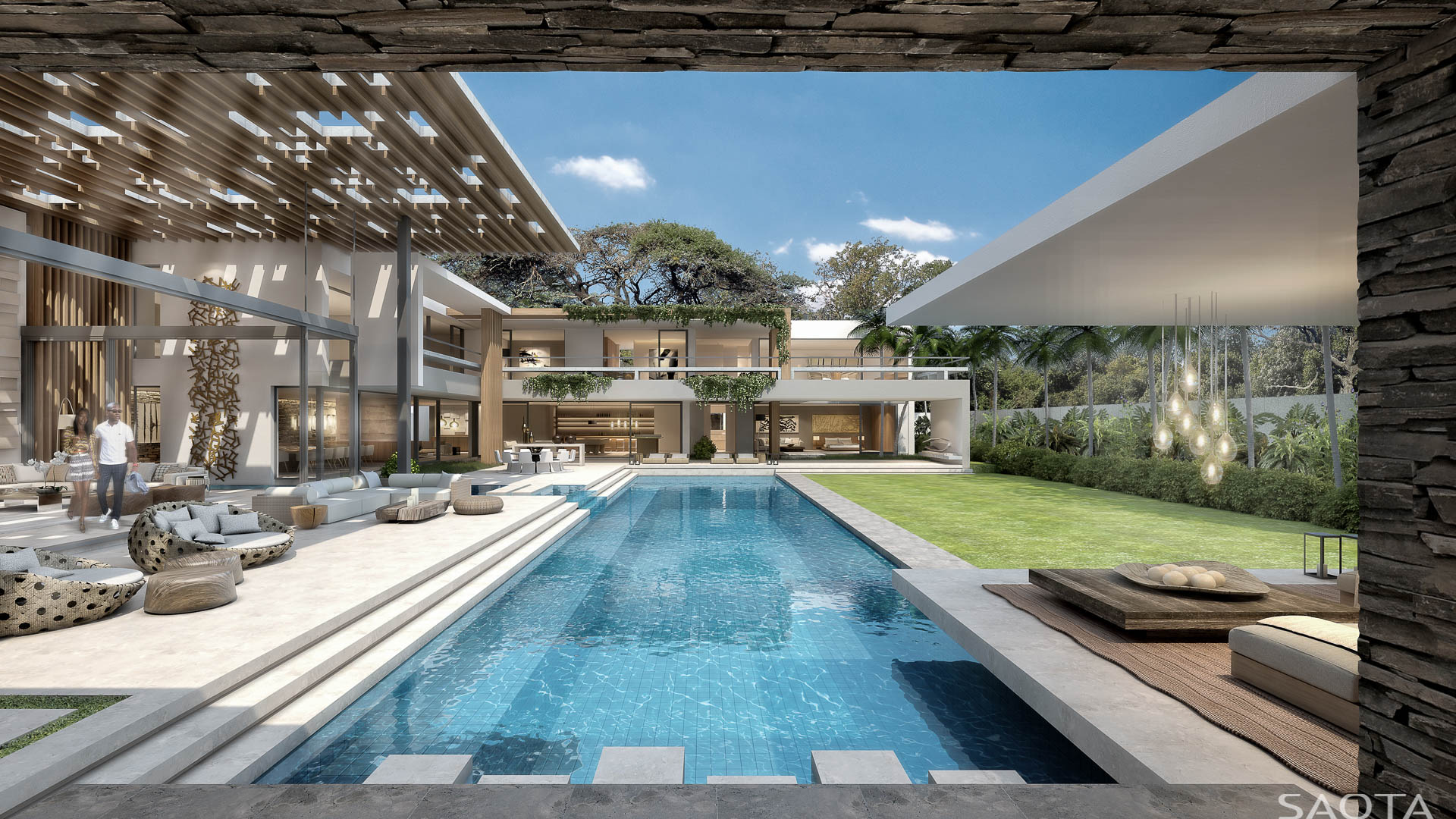 30 yet to be built modern dream homes by saota part 1 for Luxury architecture