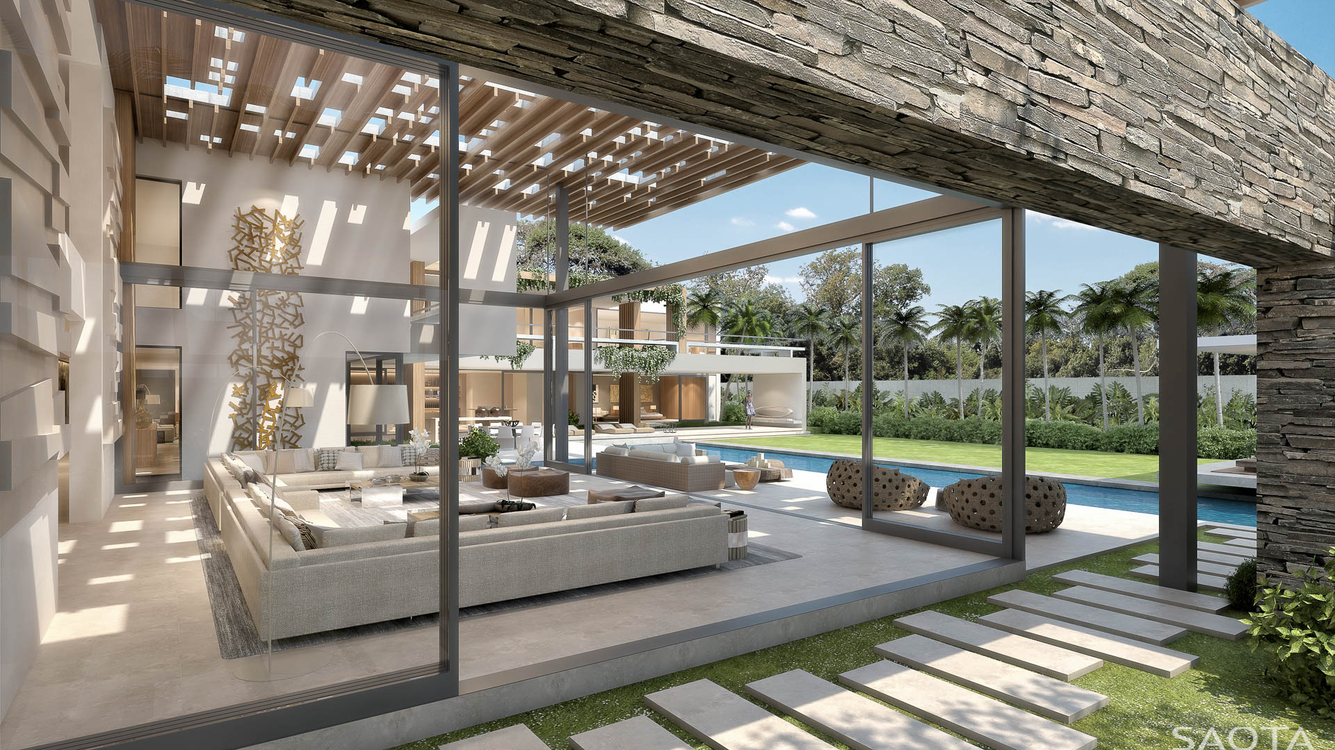 30 yet to be built modern dream homes by saota part 1 - Residence moderne miami dkor interiors ...