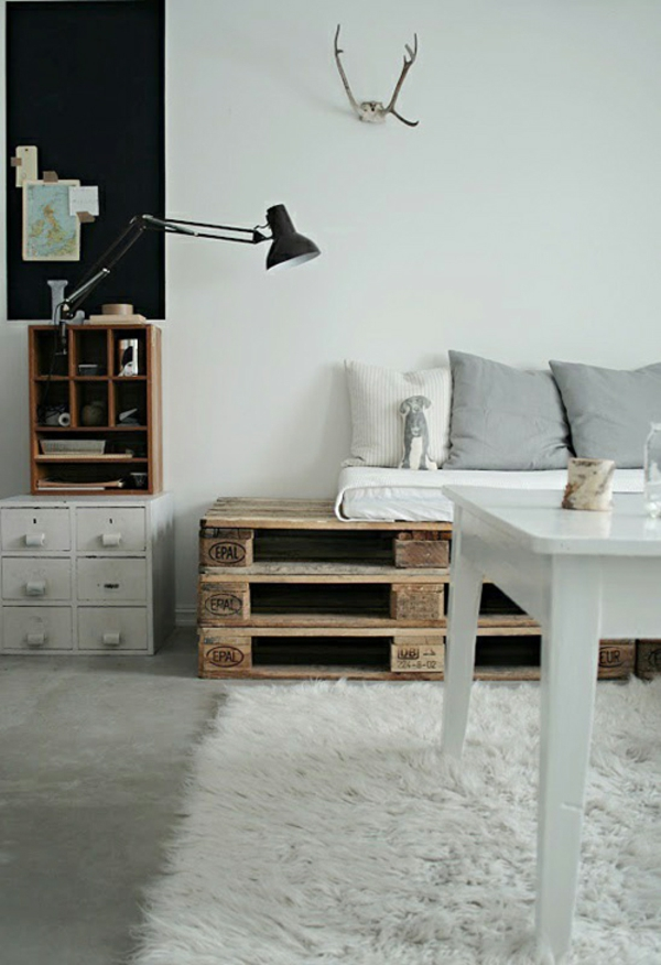 30 Cool Ideas For Homemade Wooden Pallets Furniture | Architecture ...