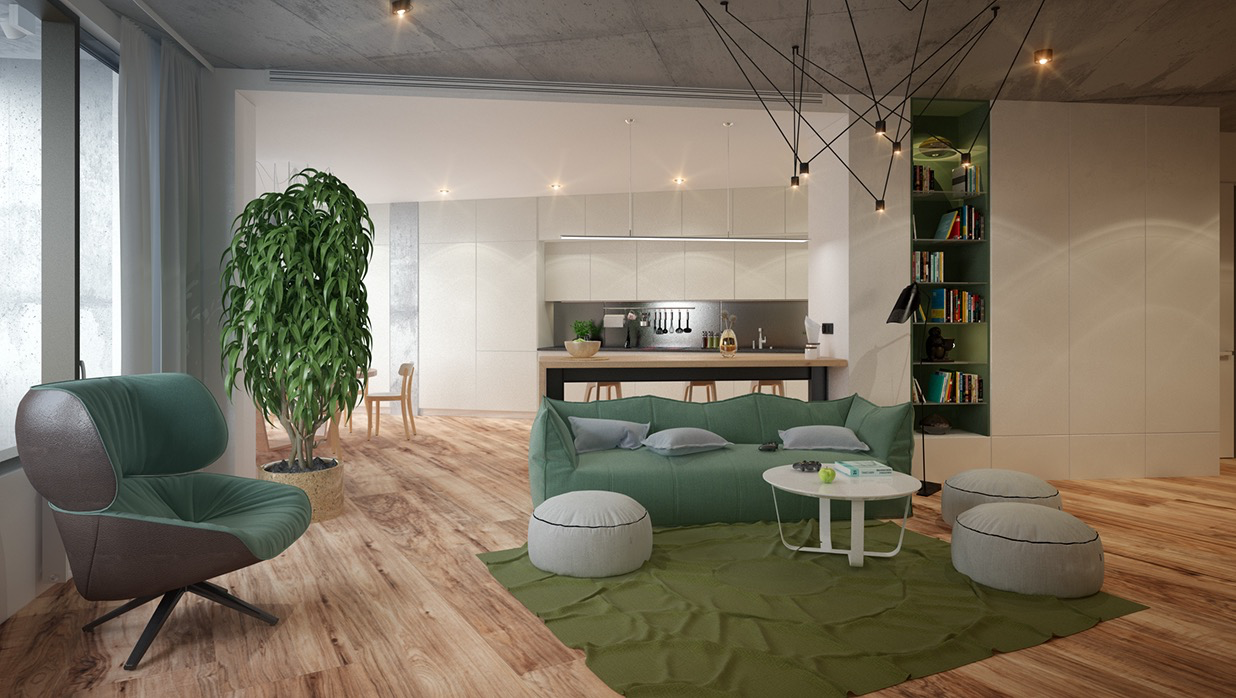 11-green-interior-ideas