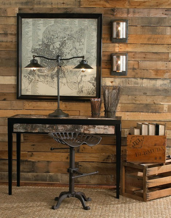 superior Cool Furniture Ideas Part - 3: 2-AD-DIY-bookshelves-wooden-pallets-furniture-ideas