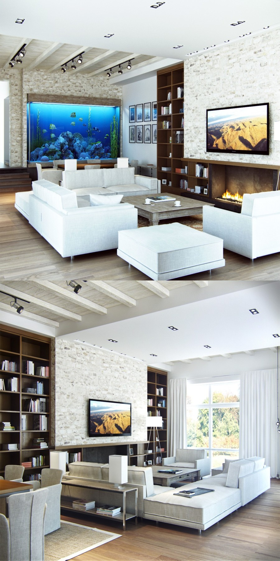 23-white-brick-living-room