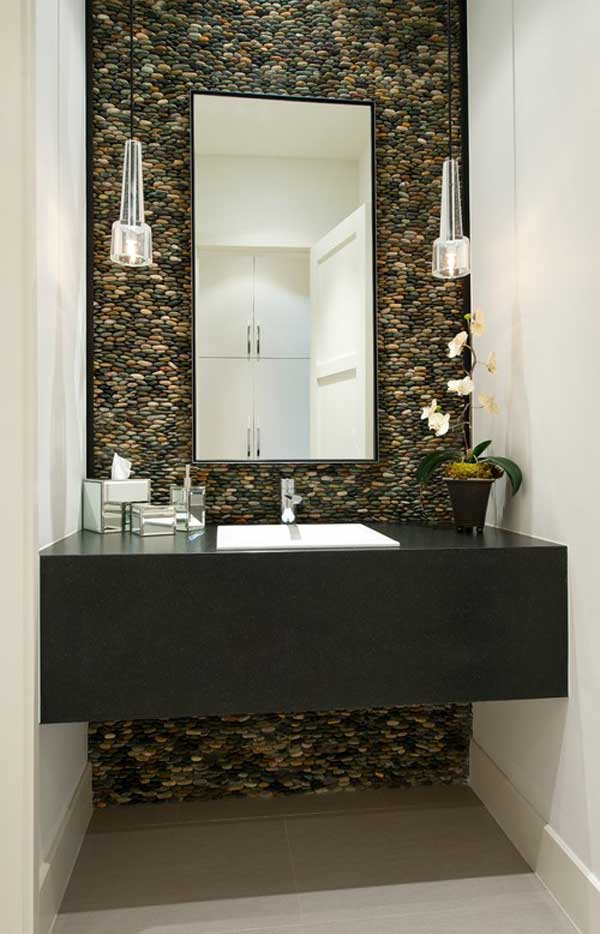 AD Add River Rocks To Home 26. 35  Amazing Ideas Adding River Rocks To Your Home Design