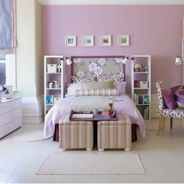 AD Awesome Purple Girls Bedroom Designs 16