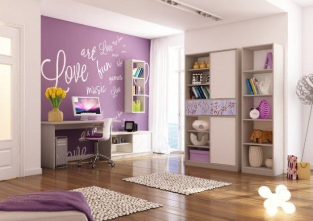 Girls Bedroom Purple 15+ awesome purple girls bedroom designs | architecture & design