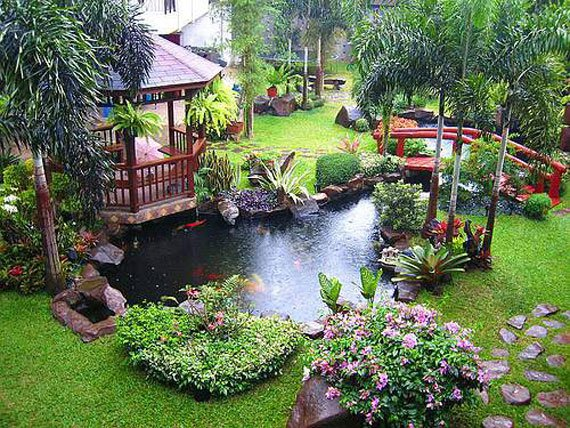 AD-Backyard-Ponds-Water-Gardens-15 - 30 Beautiful Backyard Ponds And Water Garden Ideas Architecture