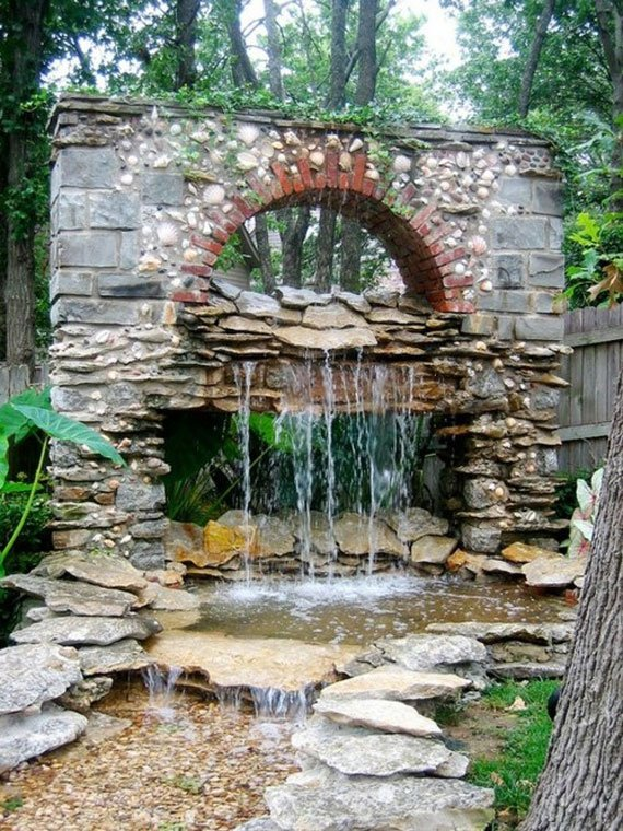 AD-Backyard-Ponds-Water-Gardens-3 - 30 Beautiful Backyard Ponds And Water Garden Ideas Architecture