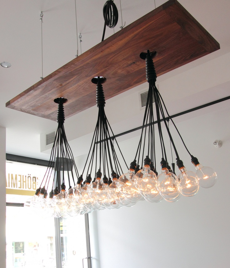 20 Beautiful Diy Wood Lamps And Chandeliers That Will