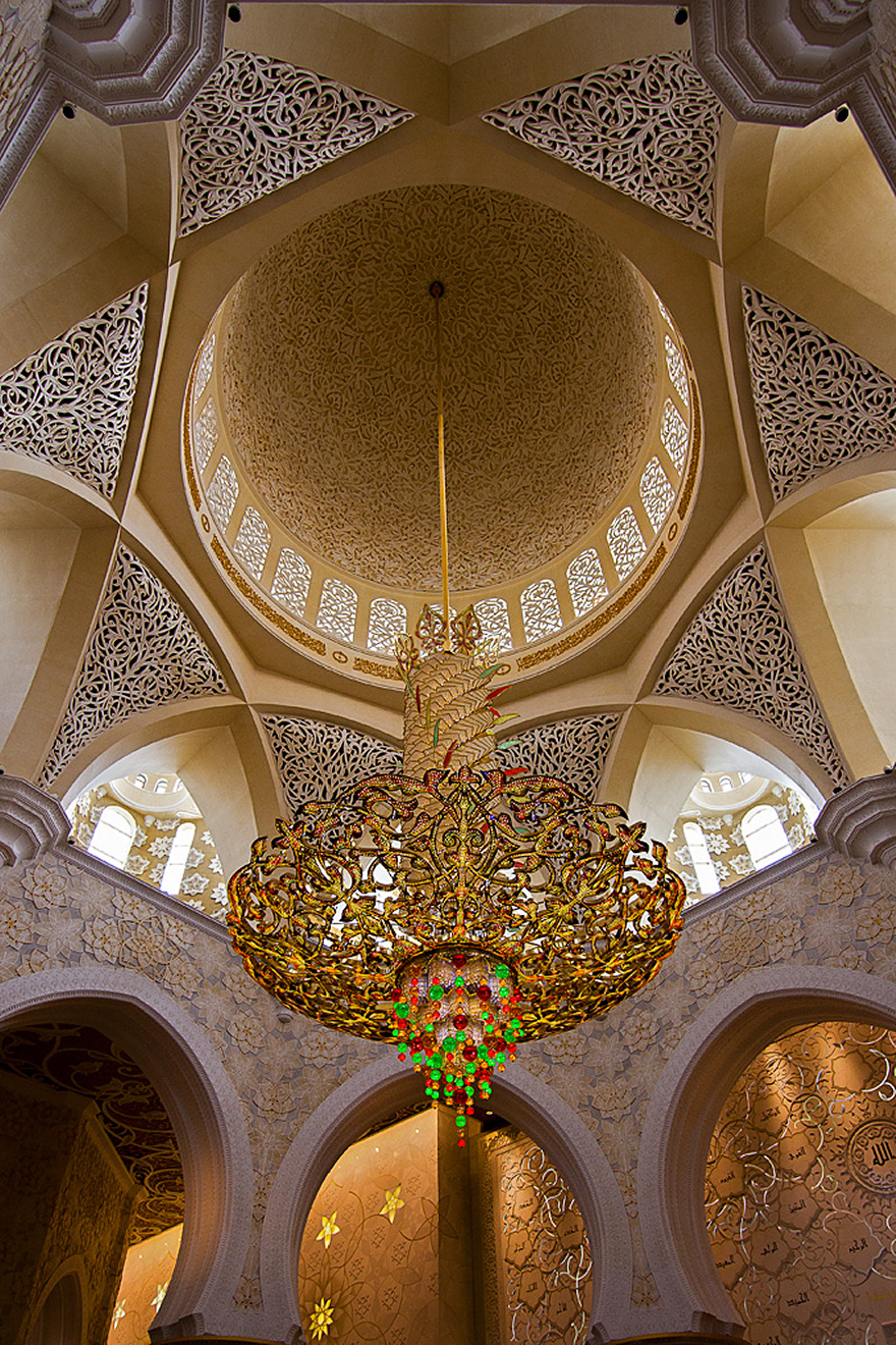 50+ Mesmerizing Mosque Ceilings That Highlight The Wonders ...