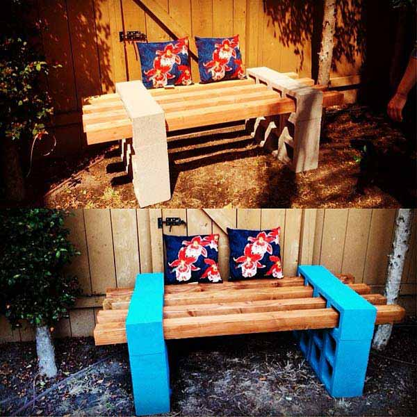 25 Awesome Outside Seating Ideas You Can Make With Recycled Items Architecture Amp Design