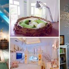 20+ Fairy Tale Inspired Decorating Ideas for Child's Bedroom