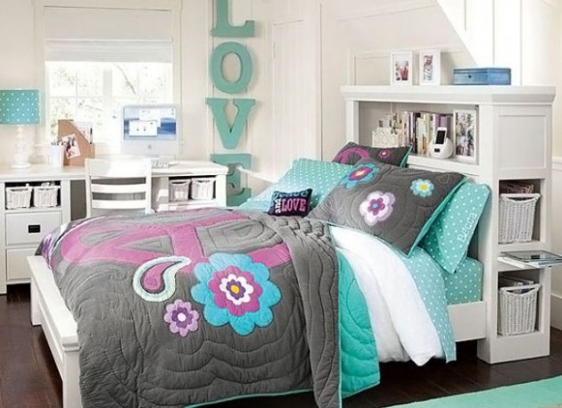 15+ Fantastic Bedrooms For Chic Teen Girls | Architecture ... on Teenage Rooms For Girls  id=84863