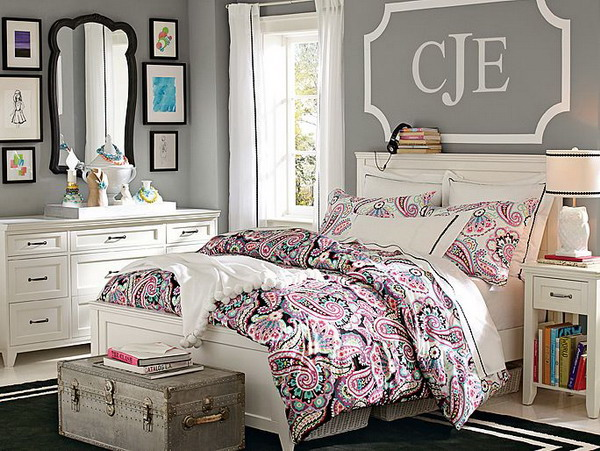15 fantastic bedrooms for chic teen girls architecture - Teenage girl bedroom decorations ...