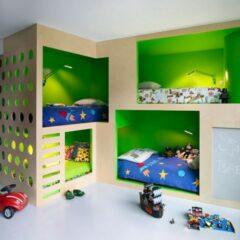 25+ Attractive Green Kids Room Designs