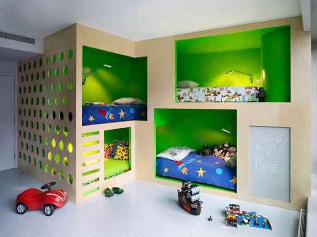 Ad Green Kids Room 30