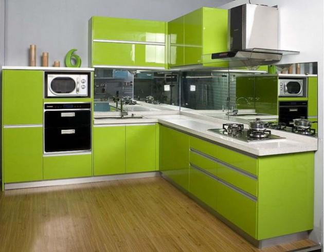 AD Love Green Kitchen Design Ideas 11