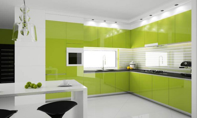 Kitchen Design Green 15+ lovely green kitchen design ideas | architecture & design