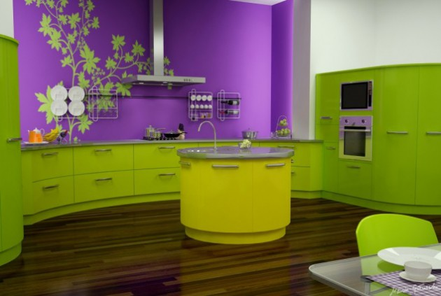 Delicieux AD Love Green Kitchen Design Ideas 2