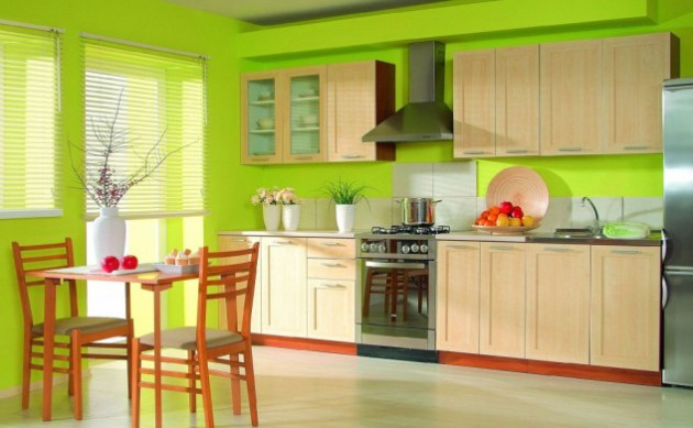 15+ Lovely Green Kitchen Design Ideas | Architecture & Design