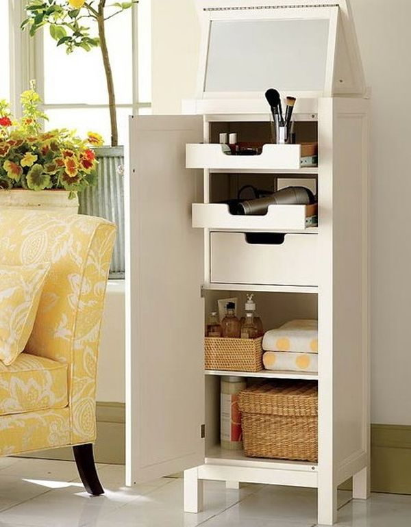 Merveilleux AD Makeup Storage Ideas 9