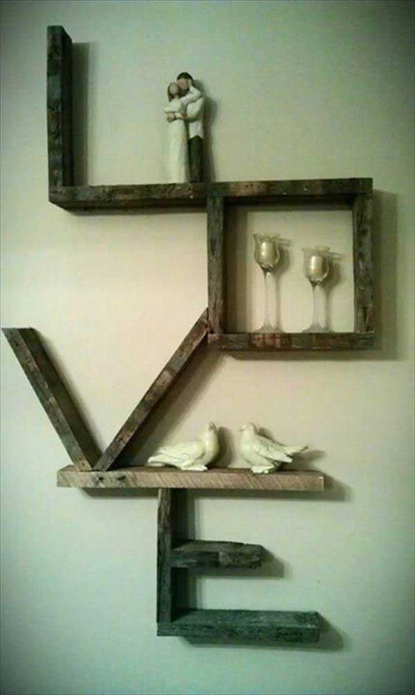Diy Painting Walls: 20+ Recycled Pallet Wall Art Ideas For Enhancing Your Interior