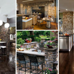 20+ Stunning Stone Kitchen Ideas Bring Natural Feel Into Modern Homes