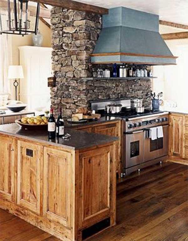 AD Rustic Stone Kitchen 12