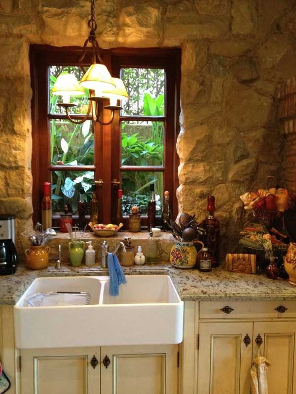 AD Rustic Stone Kitchen 17